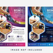 قالب تجاری و کسب و کار انتزاعی