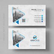 لایه باز کارت ویزیت تجاری مدرن